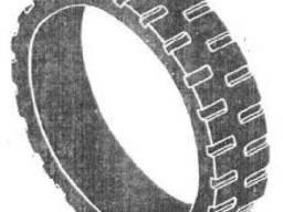 Бандажна шина резинова зерноочисних машин ОВС-25, також на ЗМ-60/90