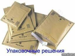Бандерольные конверты, конверты с пузырьками, с прослойкой