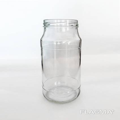 Банка стеклянная 1 литр ТО оптом