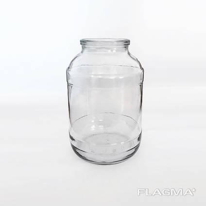 Банка стеклянная 3 литра СКО оптом