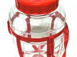 Банка стеклянная GL с гидрозатвором