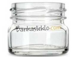 Банка стеклянная твист 30 мл. / 0, 030 л. ТО 43