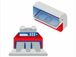 Банковское оборудование, счётчики банкнот, детекторы валют