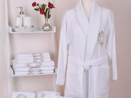 Банный халат Rozet White женский