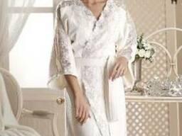 Банный халат Sardunya Vanilla