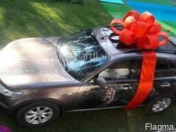 Бант для машины, большой бант на машину, подарочный бант