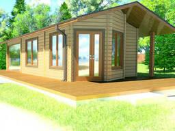 Проектирование и строительство саун, бани деревянной из. ..