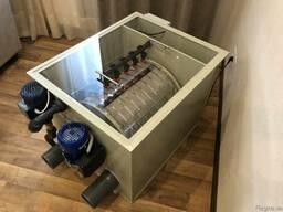 Барабанный фильтр AVA DF-50 для УЗВ/Водоема с Кои/Пруда