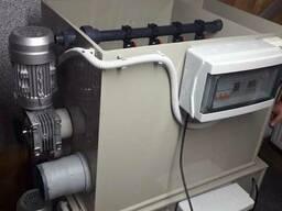 Барабанный мех фильтр для узв из ПП 50 м3/час