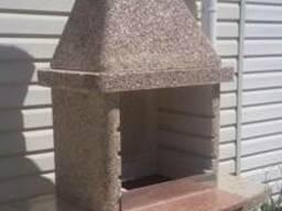 Формы для барбекю из бетона