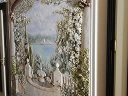 Барельеф/лепка на стене /роспись стен