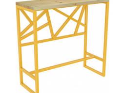 Барний стіл в стилі лофт на замовлення, барный стол, loft