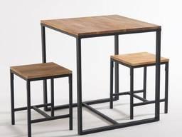 Комплект меблів лофт на замовлення, стіл, стілець, лофт