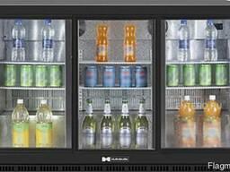 Барный холодильник для напитков с подсветкой