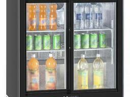 Барный холодильник Hurakan HKN-DB205S минибар для напитков