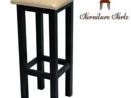 Барные стулья деревянные, Барный табурет Квадрат
