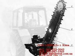 Баровая установка ЭЦ 1800 для навески на трактор МТЗ