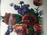 Барвиста вишиванка малюнок постер Dimense print дизайнерский рельефный 90 см х 70 см - фото 1