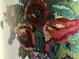 Барвиста вишиванка малюнок постер Dimense print дизайнерский рельефный 90 см х 70 см - фото 3