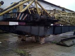 Башенный кран на рельсовом ходу КБ-401 (КБ-160.2) - фото 6