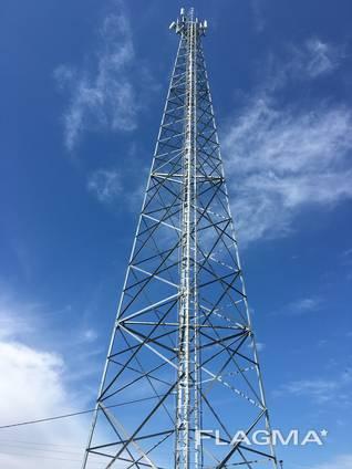 Башня мачта мобильной связи телекоммуникационная