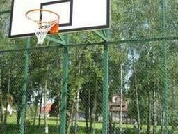 Баскетбольная стойка на четырех опорах под щит 1800х1050