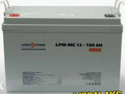 Батарея мультигелевая для ИБП Logicpower LPM-MG 12 - 100 AH