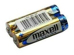 Батарейка AA Maxell Alkaline LR6 в пленке 1шт (2шт в уп. )