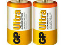 Батарейка GP 13AEB-2S2 R20 щелочная, 2 шт в вакуумной упаковке, цена за упаковку