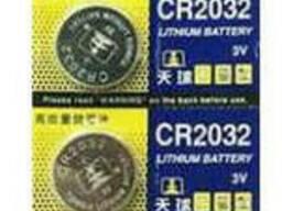 Батарейка литиевая China CR2032, 5 шт в блистере (упак.100 штук) цена за блист.