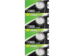 Батарейка литиевая GP CR2025-8C5, 5 шт в блистере (упак.100 штук) цена за блистер