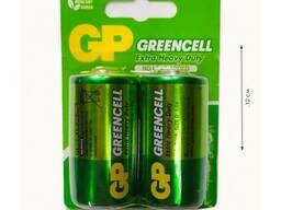"Батарейки D ""GP"" Greencell R20"