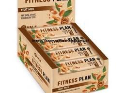 "Батончик без сахара ореховый "" Fitness Plan Nut mix"" 30шт"