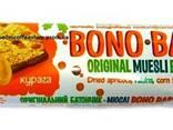 """Батончик """"Bono Bar"""" 40 г курага ( коробка 20шт ) - фото 1"""