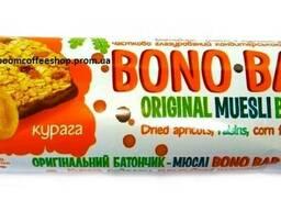 """Батончик """"Bono Bar"""" 40 г курага ( коробка 20шт )"""