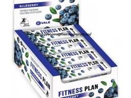 Батончик Fitness Plan - Черника ( коробка 30 шт. )