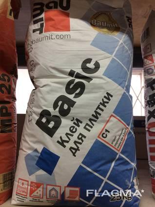 Baumit Basic клеевая смесь для керамической плитки 25 кг