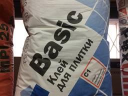 Baumit Basic клеевая смесь для керамической плитки 25 кг - фото 1