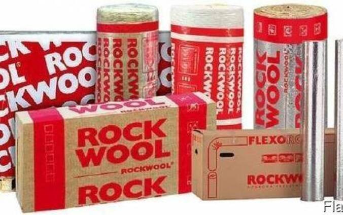 Базальтовый утеплитель Rockwool rockmin