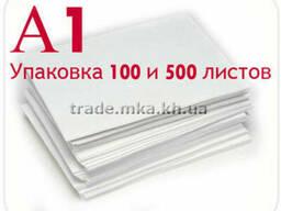 Белая крафт бумага А1