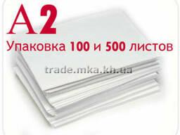 Белая крафт бумага А2