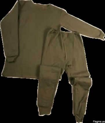 Белье нательное, мужское, солдатское, термобелье, белье на ф