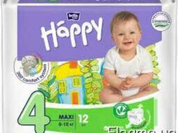 "Bella Happy Підгузки Maxi ""4"" 12 szt."