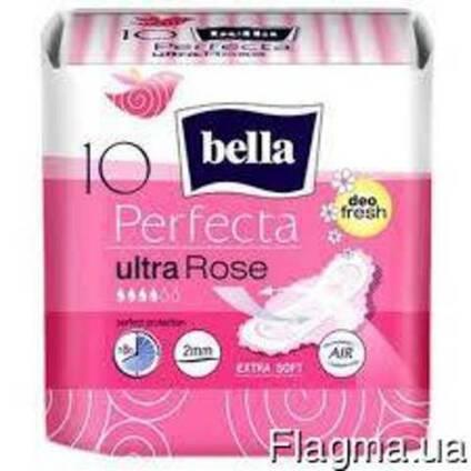 Bella Прокладка perfecta Ultra rose deo 10шт 4 Каплі
