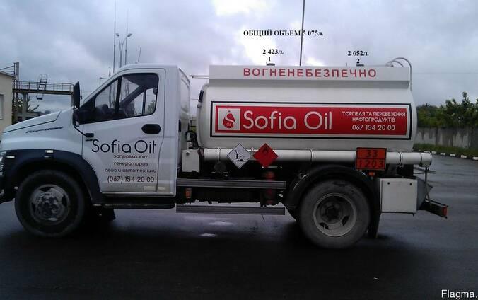 Перевозка Бензина, Дизельного топлива по всей Украине