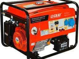 Бензиновый генератор УГБ-7500Е АВТО 7.5 кВт автозапуск