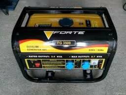 Бензиновый генератор (электростанция) Forte FG 3500 (с ручны