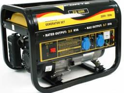 Бензиновый генератор (электростанция) FORTE FG 3500 E (c ста