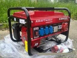 Бензиновый генератор Kraft Dele KW6500