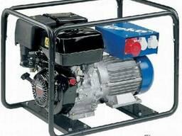 Бензиновый генератор трехфазный с электростартером geko 4400